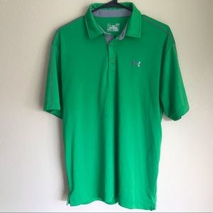 Under Armour HeatGear Loose Polo Shirt L